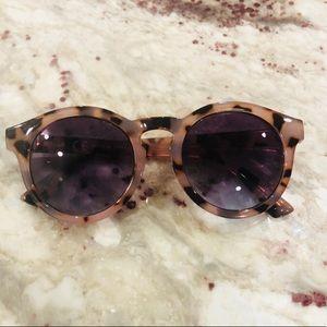 J. Crew Lavender Tortoise Shell Sunglasses